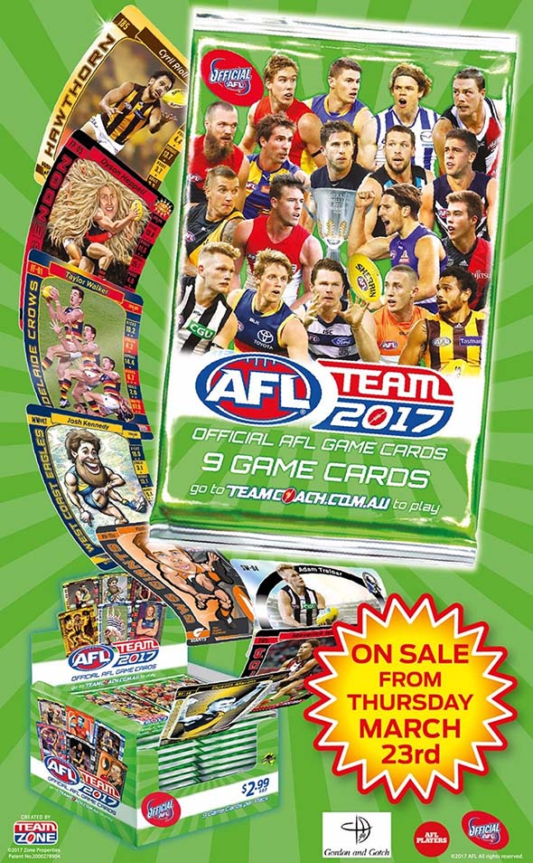 2017 AFL Team Coach