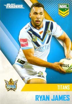 2017 NRL Traders Common Cards