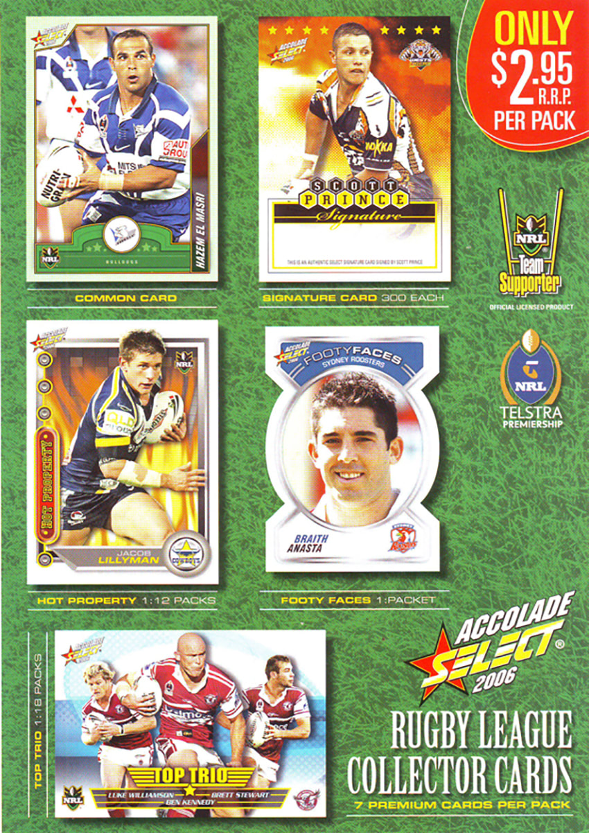2006 Select NRL Accolade