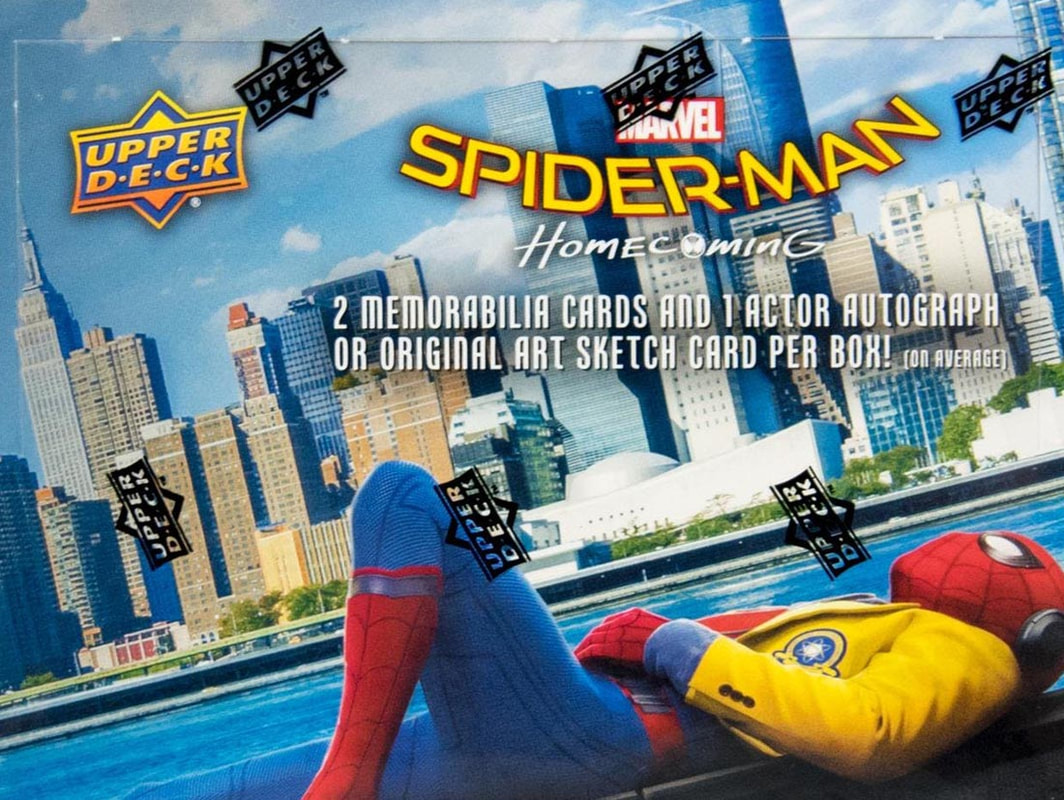 2017 Upper Deck Spider-man ​Homecoming