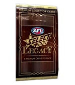 2018 Select AFL Legacy Factory Sealed Packets