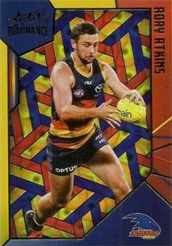 2020 Select AFL Dominance Adelaide Crows Holographic Parallel