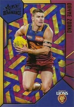 2020 Select AFL Dominance Brisbane Lions Holographic Parallel
