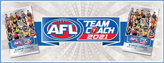 2021 AFL Team Coach trading cards