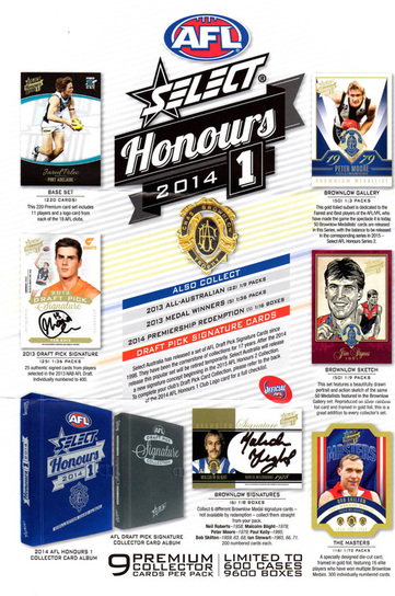 2014 Select AFL Honours 1