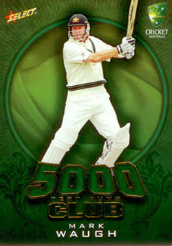 2009 / 2010 Select Cricket 5000 Test Run Club