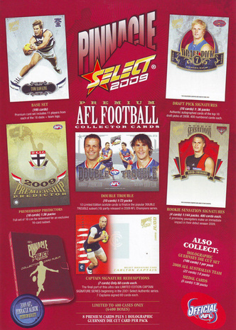 2009 Select AFL Pinnacle