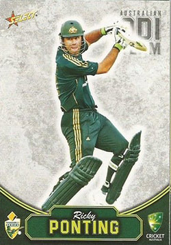 2009 / 2010 Select Cricket Common card