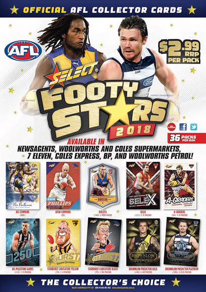 2018 Select AFL Footy Stars