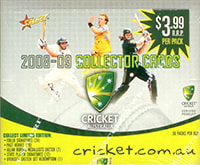2008/09 Select Cricket Factory Box