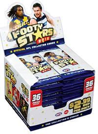 2018 Select AFL Footy Stars Factory Sealed box