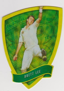 2009 / 2010 Select Cricket Holofoil Die Cut