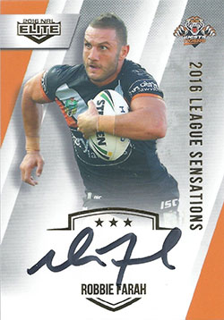 2016 ESP NRL Elite League Sensations Signature