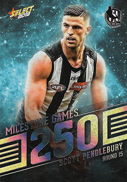 2018 Select AFL Footy Stars Milestone Games
