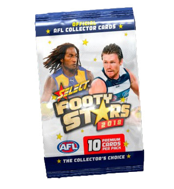 2018 Select AFL Footy Stars Sealed Packet