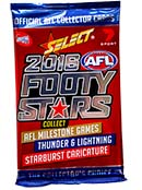 2016 Select AFL Footy Stars Packets