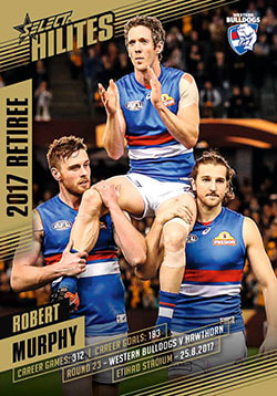2017 Select AFL Hilites Retirement Card Robert Murphy
