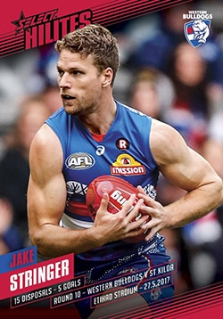 2017 Select AFL Hilites Round 10 Jake Stringer