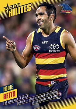 2017 Select AFL Hilites round 4 Eddie Betts