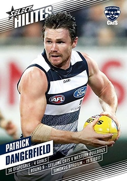 2017 Select AFL Hilites Round 9 Patrick Dangerfield